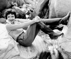 1930s and claudette colbert image
