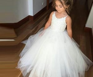 daughter, luxury, and white gown image