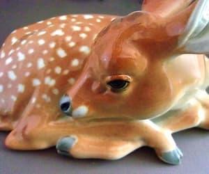 bambi, Ceramic, and etsy image
