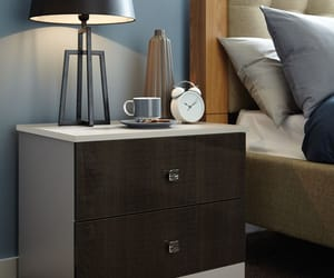 sunday morning, breakfast in bed, and bedroom furniture image