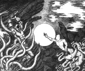 art, duality, and tentacles image