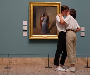 art, goals, and kiss image