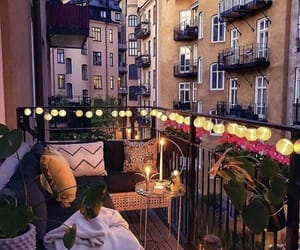 balcony and summer image