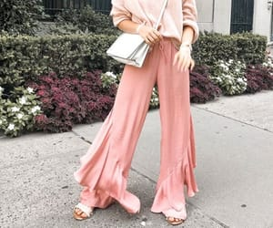 blonde, pink, and fashion image
