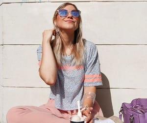 blonde, fashion, and Sunny image