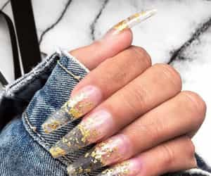 acrylics, claws, and clear image