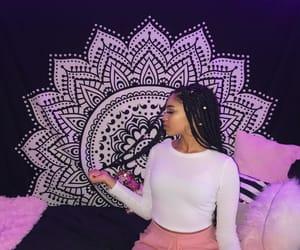 beautiful, light pink, and long sleeve image