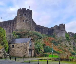castle, travel, and United Kingdom image