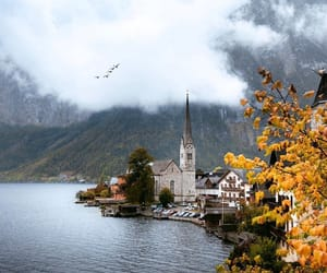 austria, autumn, and clouds image