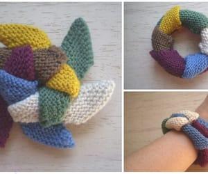 bracelet, knitting, and toy image