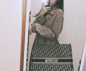 aesthetic, mirror, and bag image
