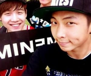 bts, jhope, and rap monster image