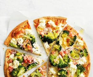 bacon, broccoli, and cheese image