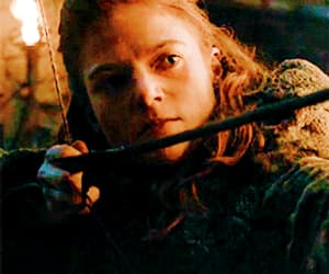 gif, ygritte, and rose leslie image