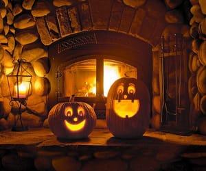 Halloween, pumpkin, and autumn image
