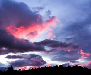 beautiful, clouds, and pink image