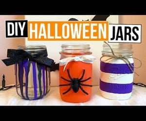 diy, Halloween, and purple decor image