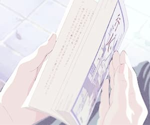 aesthetic, anime, and books image
