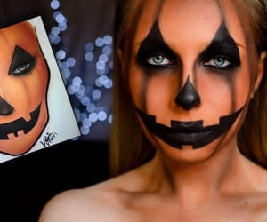 Halloween, make up, and maquillaje image