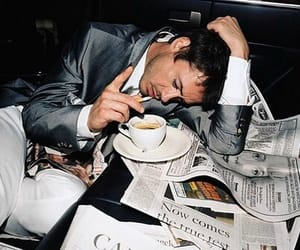robert downey jr and coffee image