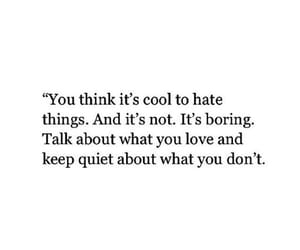 hate, quote, and lesson image