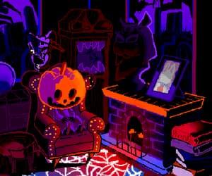 creepy, gif, and Halloween image