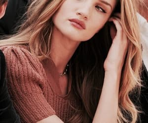 model, hair, and rosie huntington-whiteley image