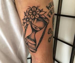 tatto, tatuajes, and reloj de arena image