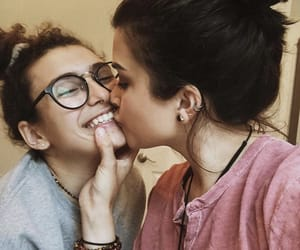 gay, happy, and lesbian image