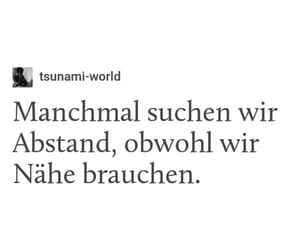 allein, deutsch, and german image
