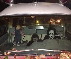 Chucky, scream, and Halloween image