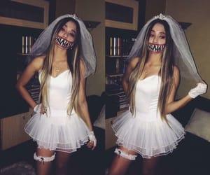 Halloween, costume, and white image