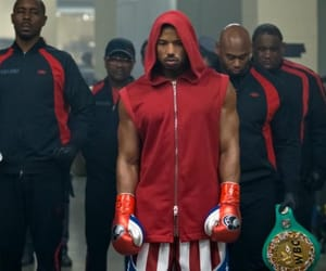 black boy, boxing, and creed image