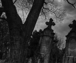 art, article, and dark image