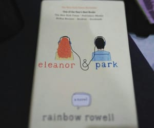 books, eleanor and park, and novels image