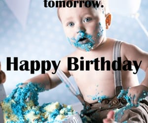 baby, message, and birthday image