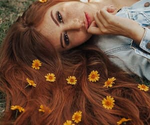 beauty, fashion, and flores image