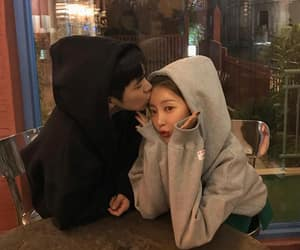 ulzzang, asian, and couple image