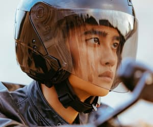bad boy, k-pop, and motorbike image