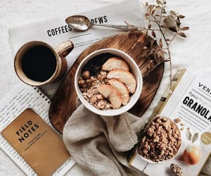coffee, fall, and food image