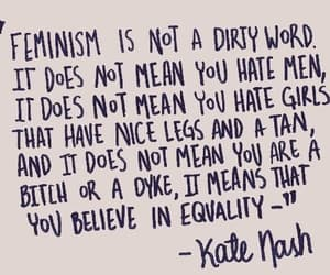 feminism, quotes, and equality image