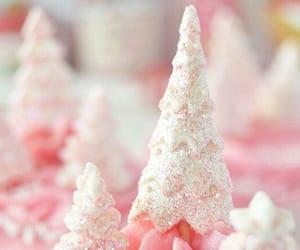 pink, christmas, and cupcake image