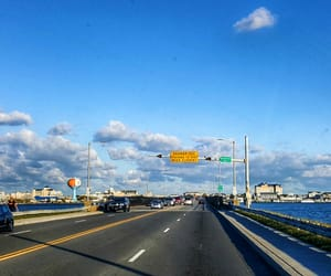 highway, travel, and maryland image