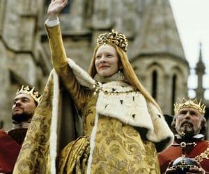 cate blanchett, royal, and elizabeth I image