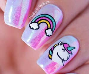 beuty, fantasy, and nailart image