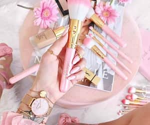 collections, make up, and pink color image