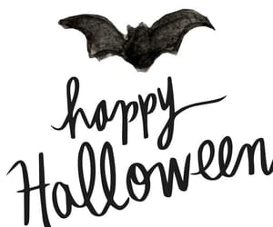 bad, black and white, and Halloween image