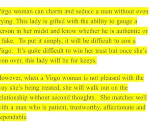 signs, zodiac sign, and virgo image