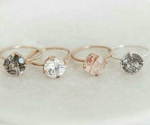 ring, simple, and love image