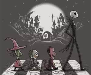 jack, Halloween, and jack skellington image